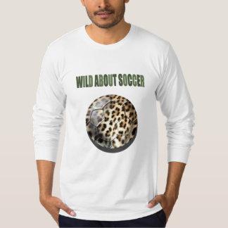 Wild about Soccer leopard soccer ball gifts Shirt