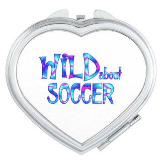 Wild About Soccer Vanity Mirror