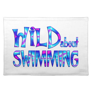 Wild About Swimming Placemat