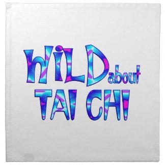 Wild About Tai Chi Napkin