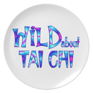 Wild About Tai Chi Plate
