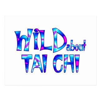 Wild About Tai Chi Postcard