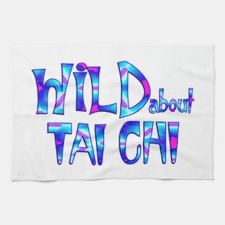 Wild About Tai Chi Tea Towel