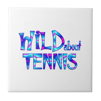 Wild About Tennis Tile