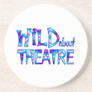 Wild About Theatre Coaster
