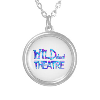 Wild About Theatre Silver Plated Necklace