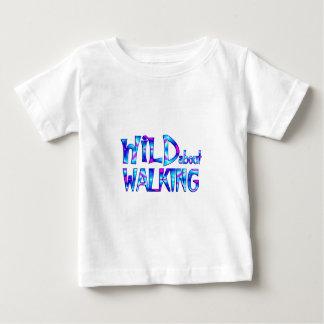 Wild About Walking Baby T-Shirt