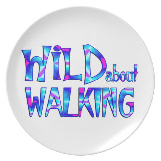 Wild About Walking Plate