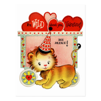 Wild About You | Valentine | Postcard