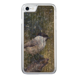 Wild  Abstract Chickadee Carved iPhone 8/7 Case