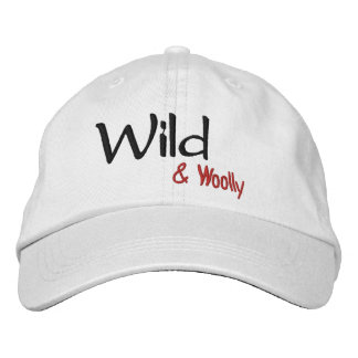 Wild Adjustable Hat Embroidered Cap