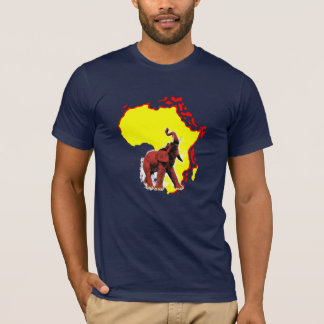 wild africa american apparel t-shirt