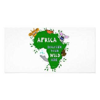 Wild Africa Card