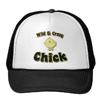 Wild and Crazy Chick Cap