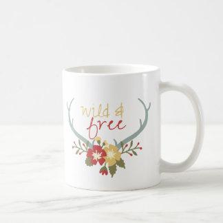 Wild and Free Boho Mug