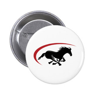Wild and Free Button Pins