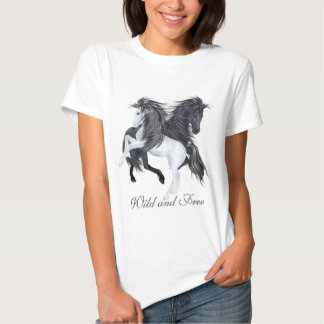 Wild and Free Horses T-shirts