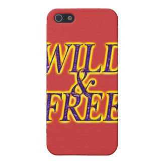 WILD AND FREE COVERS FOR iPhone 5