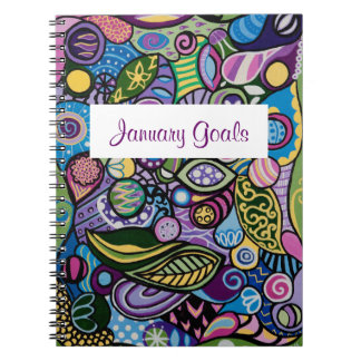 """""""Wild And Free"""" Personalized Notebook"""