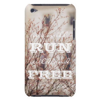 Wild and Free Phone Case iPod Touch Case-Mate Case
