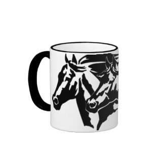 Wild and Free Ringer Mug