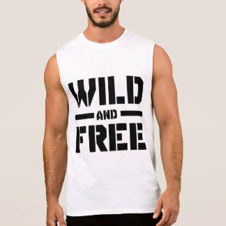 Wild and Free Sleeveless Shirt
