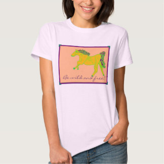 Wild and free tee shirt
