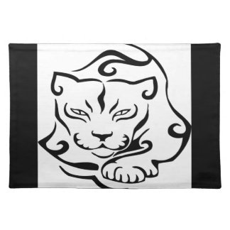 Wild and Gorgeous Cougar Place Mat