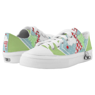 Wild and Sweet Printed Shoes