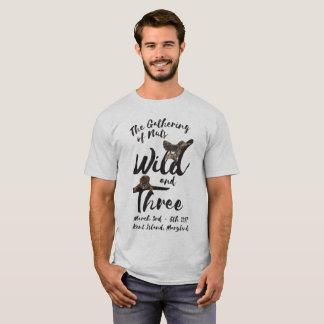 Wild and Three Handwriting Graphic Tee (Men's)