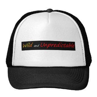 Wild and unpredictable cap