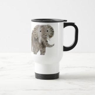 Wild Animal Elephant Art Travel Mug