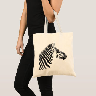 Wild Animal Savanna Grasslands Zebra Sketch Tote Bag