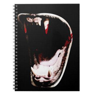 Wild Animal Teeth Fang Note Books