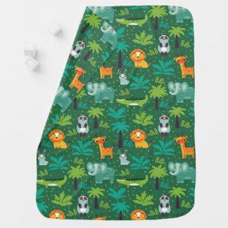 Wild Animals In Jungle Buggy Blankets