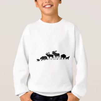 Wild Animals of Yellowstone Sweatshirt