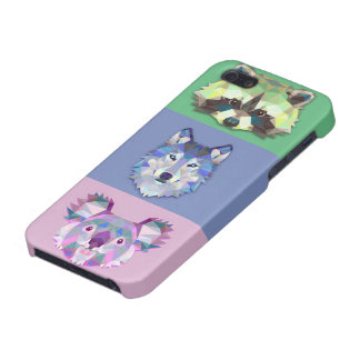 Wild animals raccoon wolf koala iPhone 5/5S cases