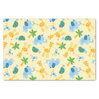 Wild animals tissue paper