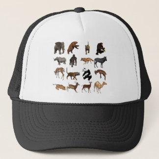 Wild animals trucker hat