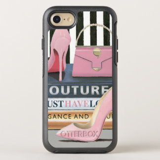 Wild Apple | Couture Stripes - Shoes & Bag OtterBox Symmetry iPhone 8/7 Case