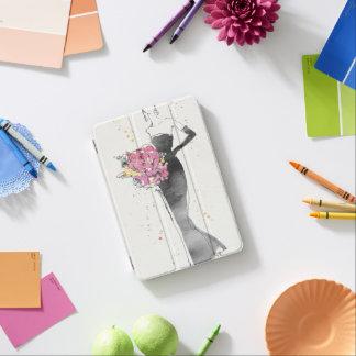 Wild Apple | Floral Fashion Dress Sketch iPad Mini Cover
