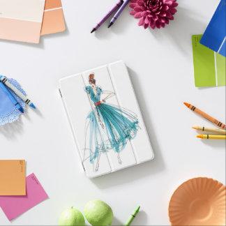 Wild Apple | Haute Couture Fashion Sketch iPad Mini Cover