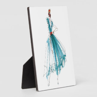 Wild Apple | Haute Couture Fashion Sketch Plaque