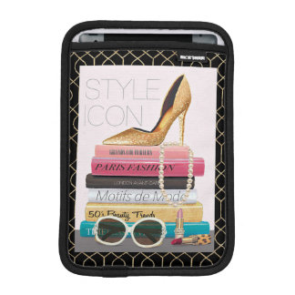 Wild Apple | Style Icon - Gold Stiletto iPad Mini Sleeve