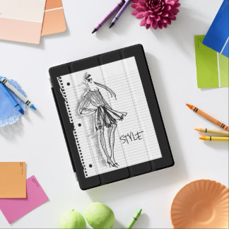 Wild Apple | Style Icon - Modern Sketch iPad Cover