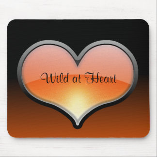 Wild at Heart mouse pad