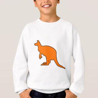 Wild Australian Kangaroo Marsupial Roo Silhouette Sweatshirt