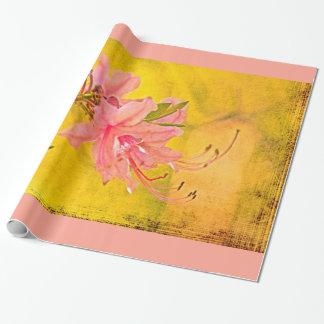 Wild Azalea Blossoms - Springtime Wrapping Paper