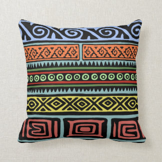 Wild Aztec Patterns Cushion