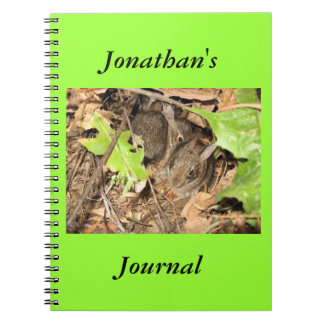 Wild Baby Bunnies Journal Spiral Note Books